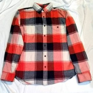 Vintage Boyfriend Fit Flannel